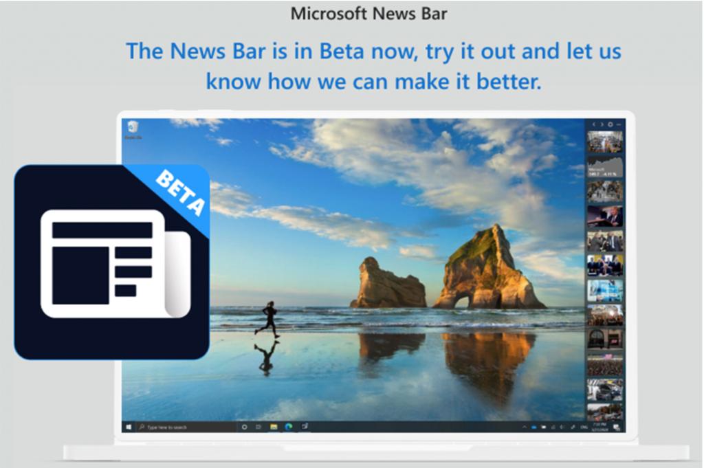 Microsoft News Bar (Beta)